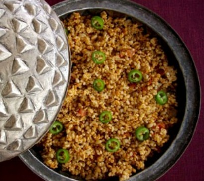 Bulgur Rice Pilaf