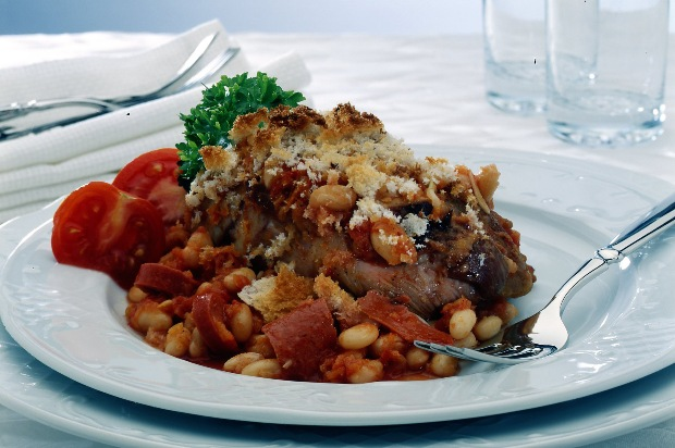 Lamb Casserole with Beans