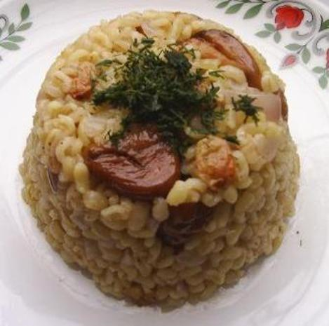 Rice Pilaf with Chestnuts