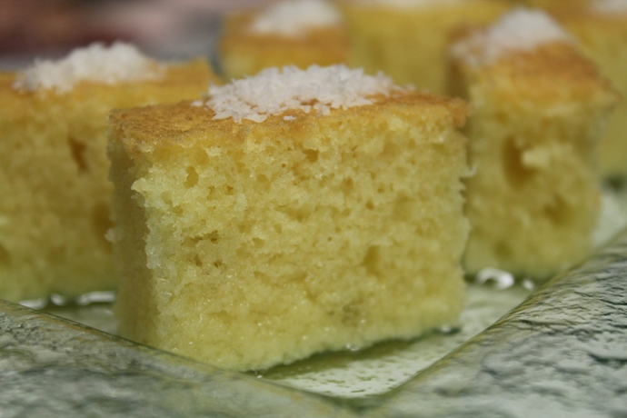 Semolina Cake with Syrup
