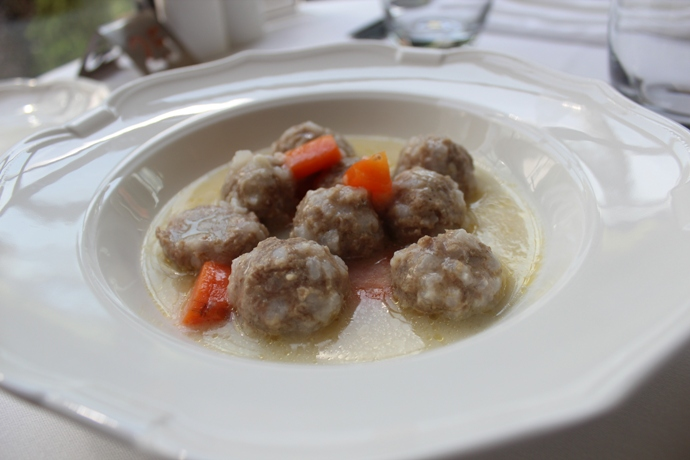 Meatball Stew with Vegetables
