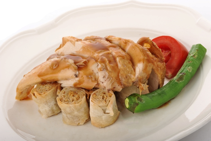 Chicken with Walnuts