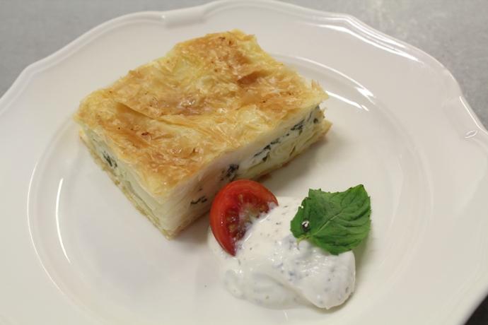 Savoury Pastry Pie